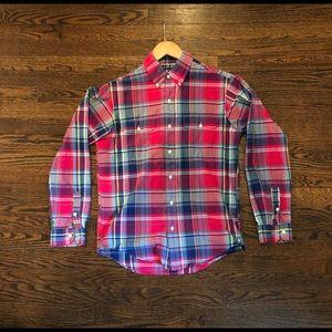 Ralph Lauren Small Madras Casual Shirt